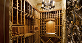 San Diego Custom Wine Cellar